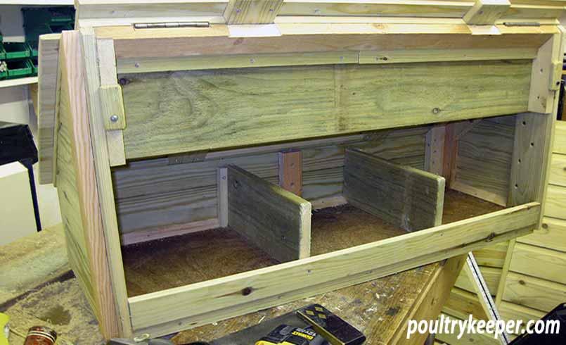 DIY Chicken Nesting Box