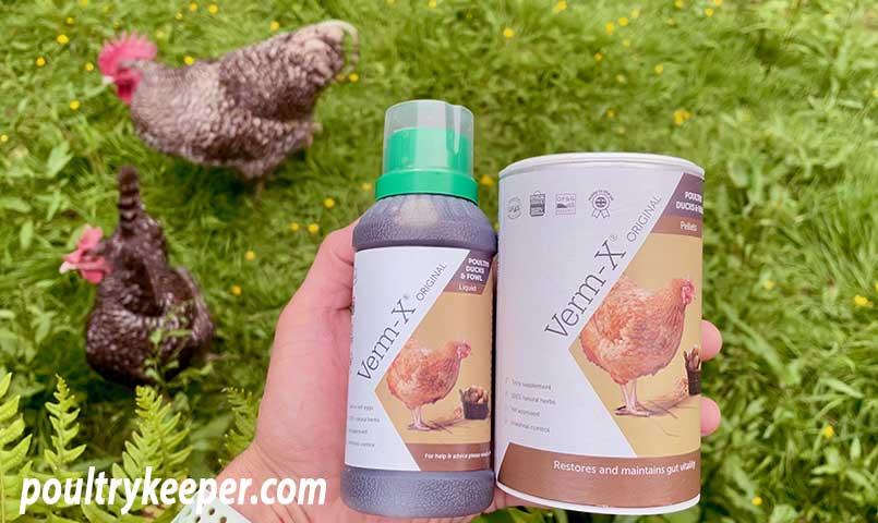 Verm-X Pellets Liquid for Poultry