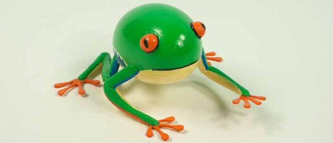 Decorated Frog Egg
