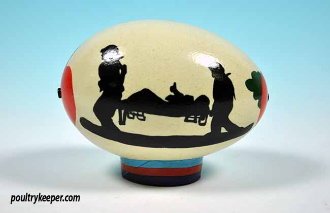 Help for Heros Decorated Egg