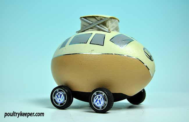 Volkswagen Decorated Egg