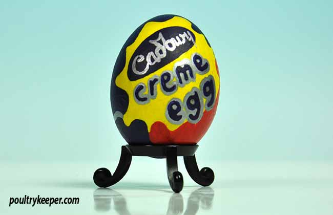 Cadbury Creme Decorated Egg