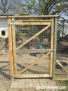 Gate to Chicken Run