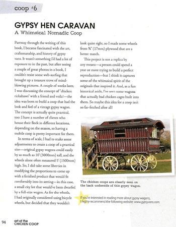 Gypsy Hen Caravan