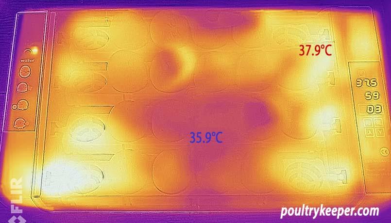 Incubator Temperature Variation
