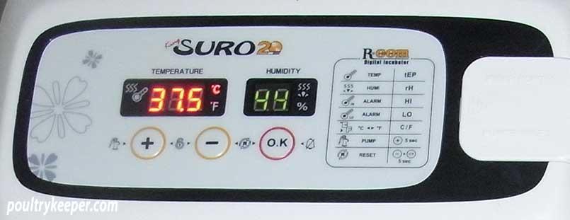 RCOM SURO Incubator Controls