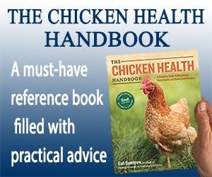 The Chicken Health Handbook Banner